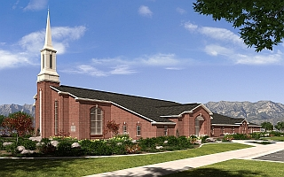 Heritage 09T Stake Center, Rendering